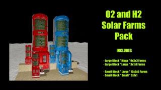 Oxygen & Hydrogen Farms-Small & Large Block Kit