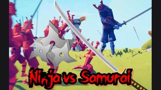 Ninja vs Samurai!