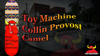 Toy Machine Collin Provost Camel
