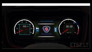 Scania dashboard