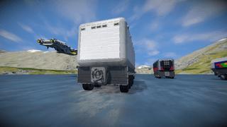 Interchangable box truck