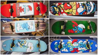 SMURFS X BOARD Decks