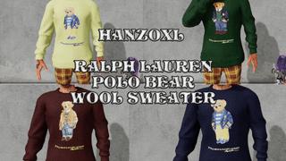 Ralph Lauren Polo Bear - Wool Sweater