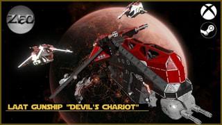 """LAAT Gunship """"Devil's Chariot"""" Custom"""
