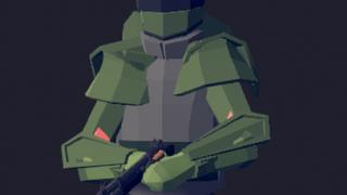 PD2 Green Bulldozer