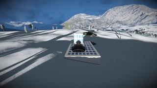 Secret Solar Launch Bay