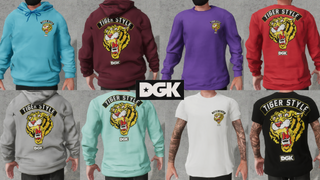 DGK Tiger Style Pack