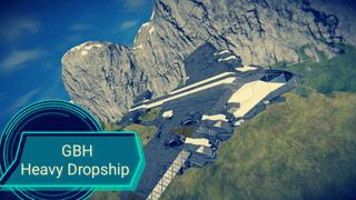 GBH SSTO Dropship Heavy Bomber