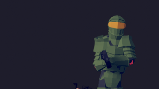 Lil boss and Master Chief