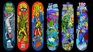 Zoo York Comic Deck Set!