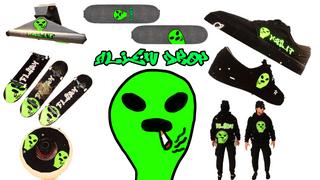 flush alien drop