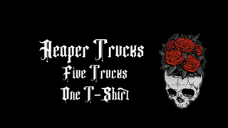 Reaper Trucks Skull Rose Drop