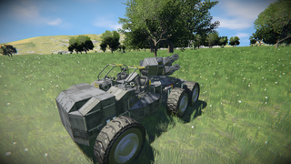 Terrain Tracer-Mk.3 support vehicle