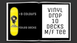 Rhythmic Skateboards Vinyl Drop