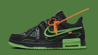 """Nike x Off-White Rubber Dunks """"Green Strike"""""""