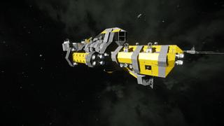 Rebel Frigate Atmospheric mk.1