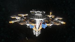 Earth Orbit Trading station