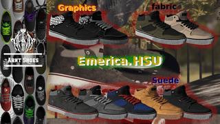 Arnt Shoes - Emerica HSU