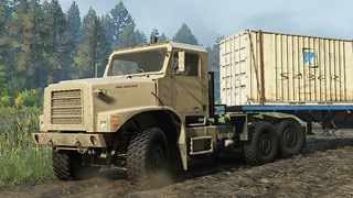 RNG M31 Military Tractor