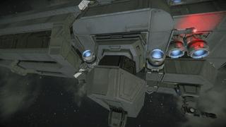 Civilian transport ship