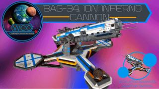 WCO BAG-34 Ion Inferno cannon V.3