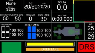 Second screen F1 2020