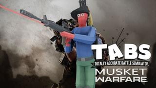 TABS MUSKET Warefare (FPS Musketeer)