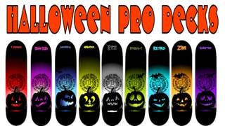 BOARD HALLOWEEN Pro DECKS 9 Decks