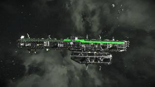 ESR Lone Wolf Battleship