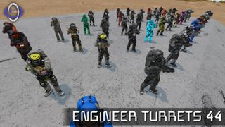 Engineer Turret Sentries