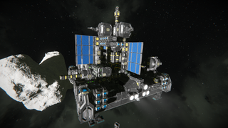 Heavy Asteriod Mining Platform