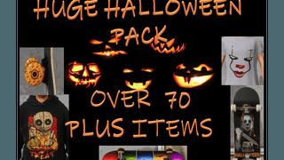 HUGE Halloween Pack 70+ items