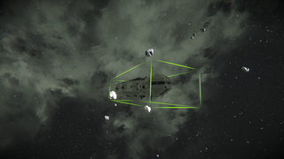 COA Capital ship with turret