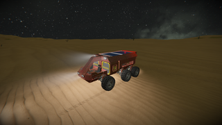 Light cargo rover