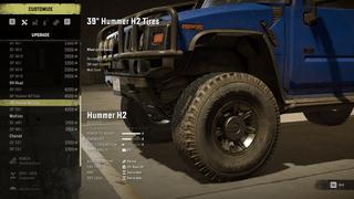 """Hummer H2 39"""" or 41"""" Tires"""