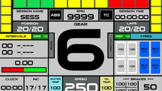 Universal Dashboard R3E