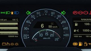 Volvo FH16 2012 ETS2 Smartphone Dashboard