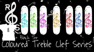 Rhythmic Skateboards Treble Clef Series