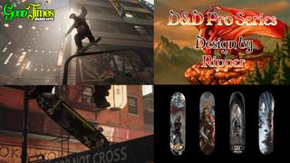 GoodTimes skateboards D&D Pro Series