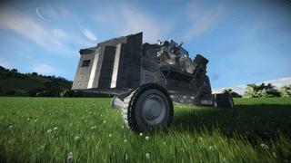Small attack rover