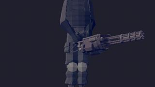 Giant minigunner