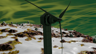Huge Wind Turbine