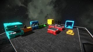 Small Ship Decorative Blocks Mod Pack