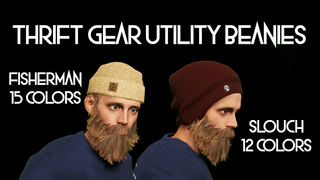 Thrift - Slouch & Fisherman Beanies - Gear Utility