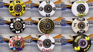 Etaks X Wutang 9 different Wheels
