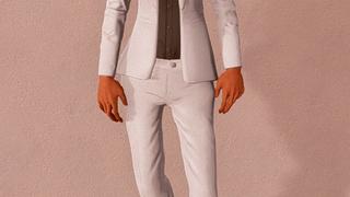 Open Jacket Pant Suit