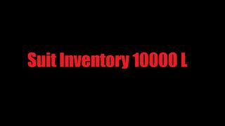 Suit Inventory 10000 L
