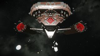 S.T DISCOVERY KLINGON DEATH SHIP