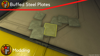 Buffed Steel Plates