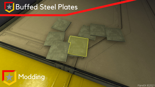 Buffed Steel Plates